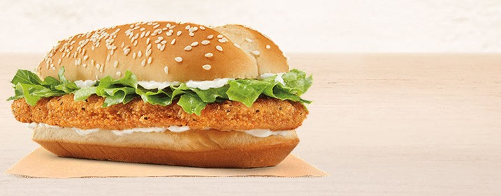 Calories In Burger King Chicken Sandwich Fast Food Calories