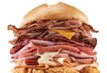 Arby's Meat Mountain Sandwich