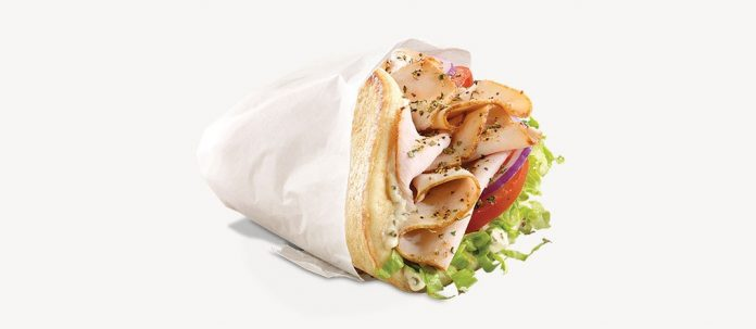 Arby's Turkey Gyro