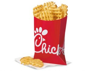 Chick-fil-A Waffle Potato Fries