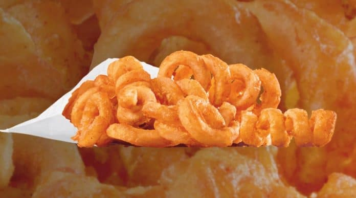 Jack in the Box Curly Fries