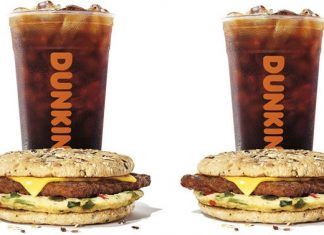 Dunkin' Power Breakfast Sandwich