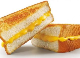 Sonic Grilled Cheese Sandwich