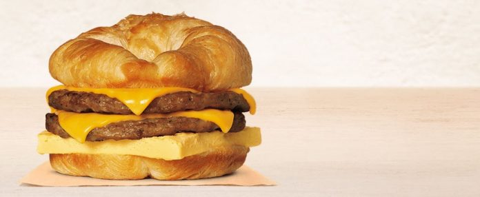 Burger King Double CROISSANWICH