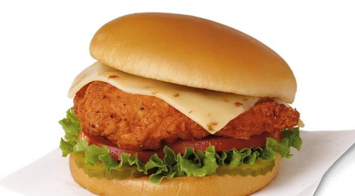 Chick-fil-A Spicy Deluxe Sandwich