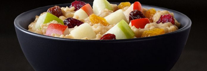 McDonald's Fruit Maple Oatmeal