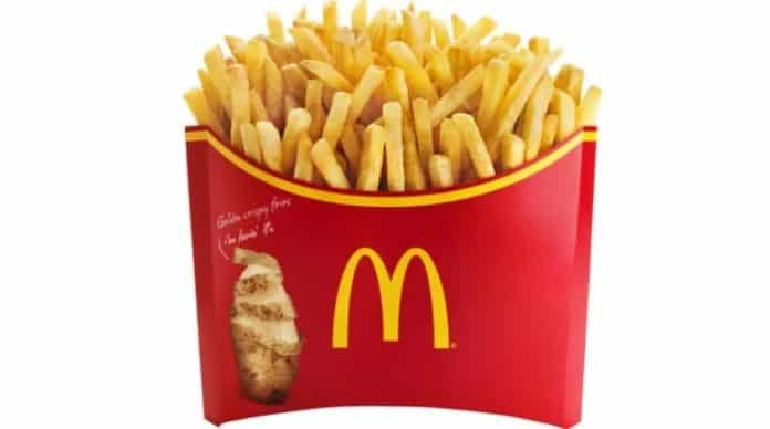 McDonald's Large French Fries