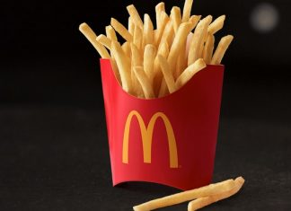 McDonald's small fries