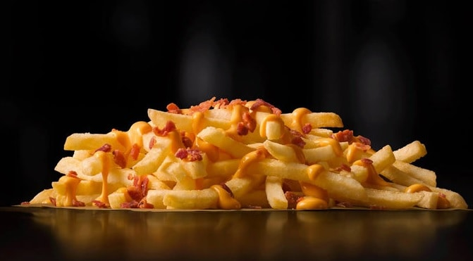 McDonald's Cheesy Bacon Fries