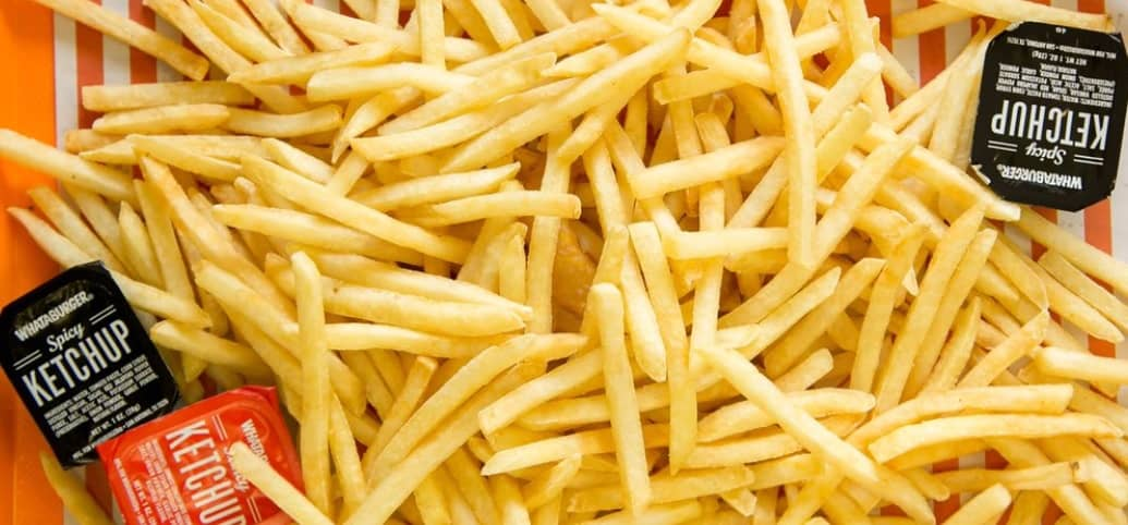 Calories In Whataburger French Fries And Nutrition Fast Food Calories