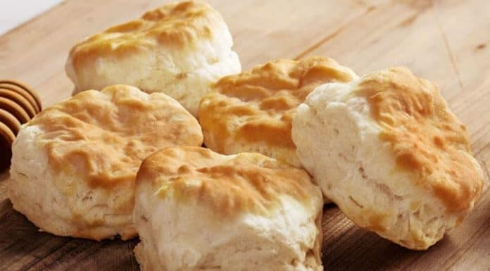 A pile of KFC Biscuits