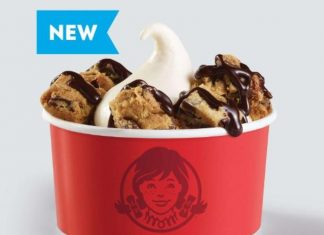 Wendy's Frosty Cookie Sundae