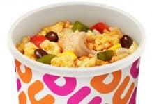 Dunkin' Fire Roasted Veggie Bowl