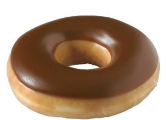 Krispy Kreme Chocolate Iced Glazed Donut
