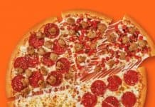 Little Caesars Quattro Pizza