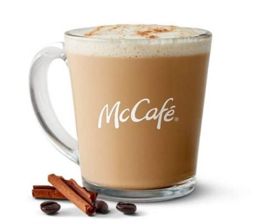 McDonald's Cinnamon Cookie Latte