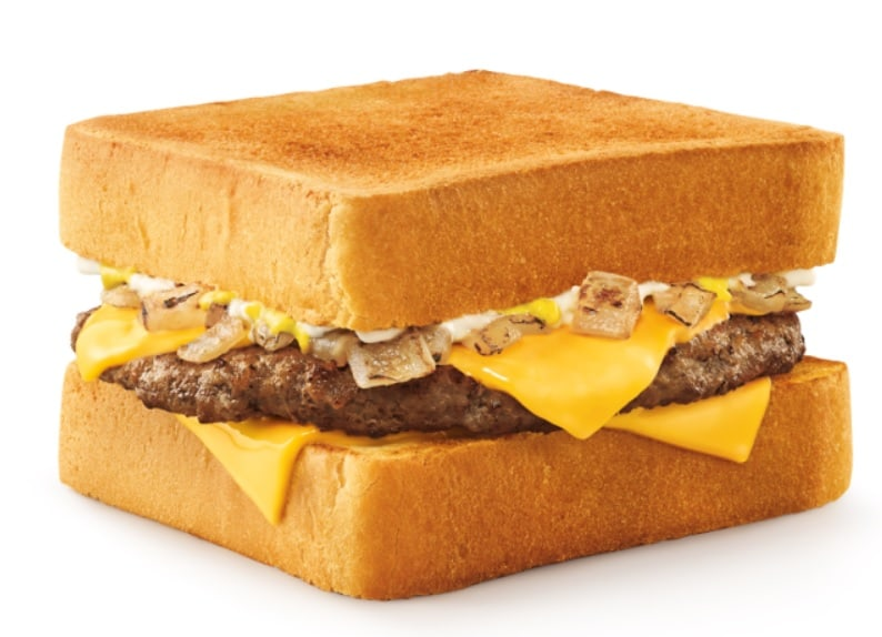 Calories In Sonic Patty Melt Fast Food Calories