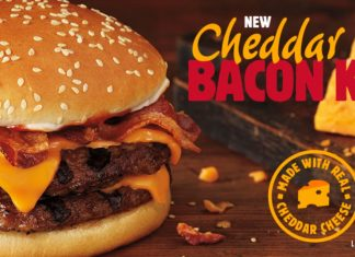 Burger King Cheddar Bacon King