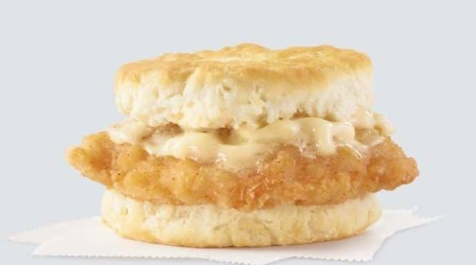 Wendy's Honey Butter Chicken Biscuit