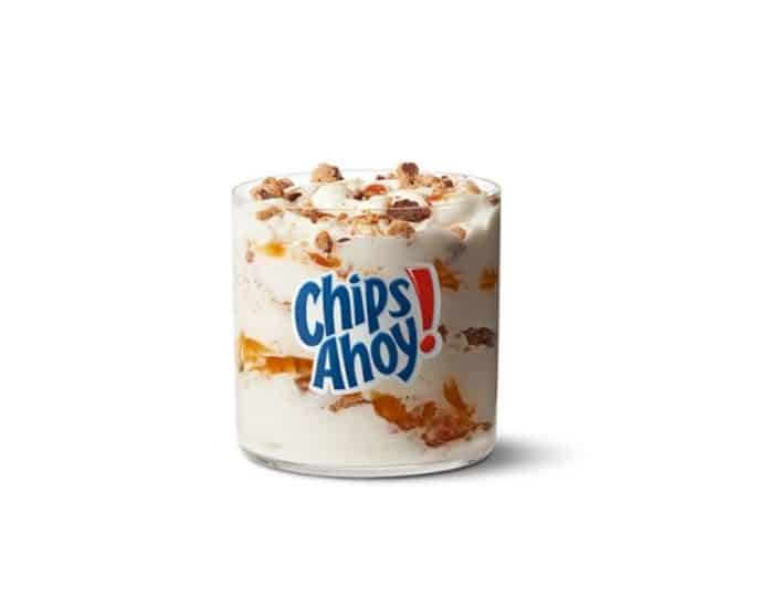 New Chips Ahoy McFlurry McDonald's