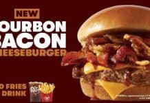 Wendy's Bourbon Bacon Cheeseburger