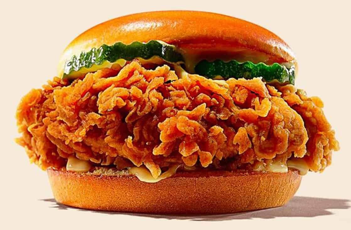Burger King Ch'King Chicken Sandwich Calories and Nutrition ...